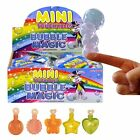 MINI MAGIC TOUCHABLE BUBBLES BOYS GIRLS TOY FUN LOOT BIRTHDAY PARTY BAG FILLERS