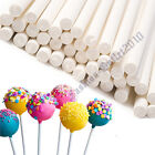 VARIOUS SET WHITE PLASTIC LOLLIPOP STICKS / SWEETS / CAKE POPS / LOLLIES / CRAFT
