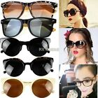 Fashion Round Circle Cat Eye Retro Clear Lens Sunglasses Sunglasses Glasses K0E1