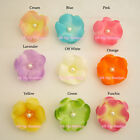 """100/500/1000 pcs WHOLESALE LOT PEARLESCENT 2"""" SILK FLOWER BRIDAL 1304H CLEARANCE"""
