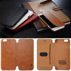Luxury Original Leather Flip Card Wallet Case Cover  for Apple iPhone 6 / 6 Plus