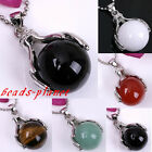 "CHIC FASHION BALL ""THE APPLE OF YOUR EYE"" PENDANT FOR NECKLACE CHAIN DIY GIFT"