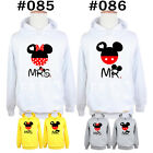 Cute Disney Mr Mickey Mrs Minnie Mouse Head Jumper Sweatshirt Girls Boys Hoodie