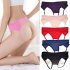 Sexy G-string Thongs Knickers Briefs Open Crotch Panties Lingerie Underwear #F8s