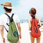 Boys Girls Travel Mesh Bag Backpack Storage Case Fashion Lover Couples Gift
