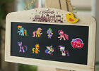 4pcs My Little Pony Fridge Magnets Refrigerator Magnets,Magnetic Sticker Gifts