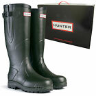 *NEW* Hunter Balmoral Classic Dark Olive Wellington Boots Wellies
