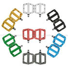"ZERAY Bike MTB BMX Platform Flat PC Pedals CNC Cr-Mo Spindle Axle 9/16"" 7 colors"