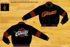 Cleveland Cavaliers NBA Jacket Reversible 2 Tone Wool Black Adult
