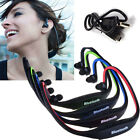 Sports Bluetooth Stereo Wireless Headset Headphones Handfree Universal 4 Colors