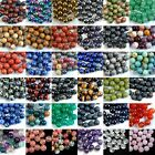 Crafts - Wholesale Lot Natural Gemstone Round Spacer Loose Beads 4mm 6mm 8mm 10mm 12mm