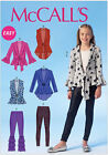 McCall's 7042 Sewing Pattern to MAKE Easy Stretch Top Cardigan & Leggings