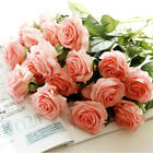 10-20pcs Real Latex Touch Rose Flowers For wedding And Home Design Bouquet Decor