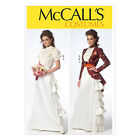 McCall's 7071 Sewing Pattern to MAKE Steampunk Style Historic Costume Bridal