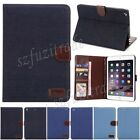 NEW Cowboy Style Flip Leather Tablet Case Card Pouch Fitted Skin For iPad Mini 3
