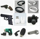 Cute Mini Camera Gun USB 2.0 Memory Stick 8GB 16GB Flash pen Drive Gift