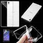 ULTRA SLIM TPU SOFT SILICONE CLEAR BACK CASE COVER FOR Sony Xperia Z3 Compact