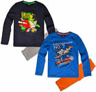 Boys Disney Planes Pyjamas Set Kids Pjs Long Sleeve Official New Age 3 - 8 Years