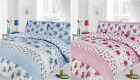 Duvet Cover with Pillowcase Quilt Cover Bedding Set Vintage Modern Floral