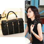 Fashion Korean Women Lady Lace PU Leather Satchel Tote Hobo Handbag Shoulder Bag
