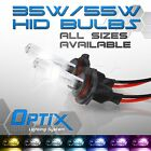 Optix 35W HID Xenon Bulbs High Beams Fog Light Head Lights - Replacement Pair