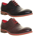 12358 Original Justin Reece Mens Lace up Derby Shoe Distressed Sole Look Casual
