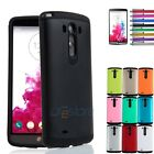 Ultra Slim Hybrid Rugged Impact Hard Soft Rubber Case Cover for LG G3 D850 D855