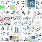 Steel Rivet Hoop Twist Barbell Eyebrow Rings Earring Lip Ring Piercing Wholesae