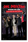Framed One Direction Tour Where We Are San Siro Movie Poster New