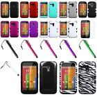 For Moto G TUFF Impact Hybrid Hard Silicone Shockproof Case Cover+Flim+Pen