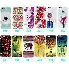 """Art Pattern Soft TPU Gel Rubber Rear Skin Case Cover For Apple iphone 6 Air 4.7"""""""