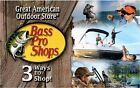 Bass Pro Shops Card $25/ $50/ $100 - Mail delivery