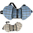 Blue/ Apricot Nylon Saddle Bags Dog Backpacks Travel Camping 4 Small/ Medium Dog