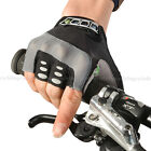 ROCKBROS Bike Cycling Gel Half Finger Short Finger Gloves Black New