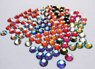 72 SWAROVSKI Foiled Flatback Crystals SS20 or 5mm - Special Colours & AB Coating