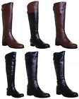 Justin Reece Vivienne Womens Leather Knee High Boots Size 3 4 5 6 7 8