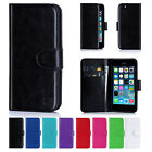 32nd Book Leather Wallet Case Cover For Apple Iphone + Screen Protector