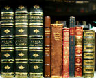 Set of Leatherbound vintage books