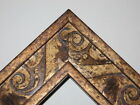 """2.3"""" Poly Gold Gothic Ornate Picture Frame-Custom Standard"""