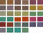 15/0 Toho Japanese Seed Beads Permanent Finish Metallic + Matte 34 Colors Total!