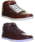 Boxfresh Swich Mens Leather Ankle Boots Hi Top Trainers Size