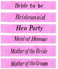 Hot Pink Hen Night Sash Hen Party Sashes Girls Night Out Hen Do