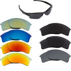New Oakley FLAK JACKET XLJ Polycarbonate Replacement Lenses by SEEK - 7 Colors