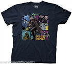 New Dr Who The Comic Doctor With Police Box Adult T Shirt Sci Fi TV Movie