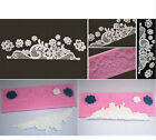 Lace Floral Silicone Fondant Mould Cake Deco candy cookie cutter Sugarcraft mold