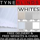 "From 99p Vertical blinds replacement SLATS LOUVRES - white 3.5""  (89mm)"