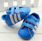Infant Baby Gril Boy Blue Soft Sole Sport Shoes Sneaker Size 0-18 Month /V