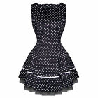 Hearts & Roses London Small Polka Dot Vintage Style Mini Party Dress