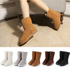 New Hot Sale Womens Ladies Snow Boots  Mucker Fur Fully Lined Warm All Size
