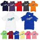 Los Angeles LA Dodgers Light Cotton Hooded Short sleeve tshirt Hoodie Hoody Top